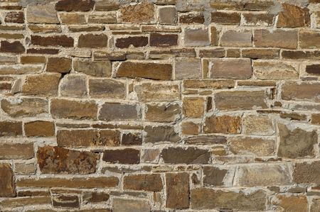 red brick repetition: decorative stone wall background