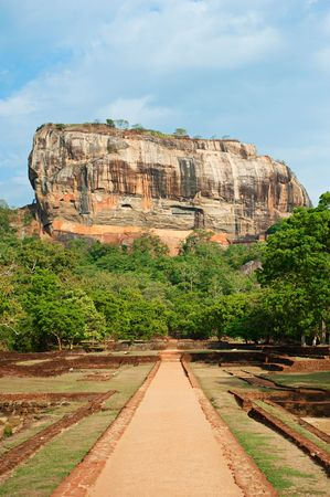 sigiriya. famous place in sri lanka photo