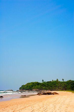 beautiful tropical landscape. sri lanka photo