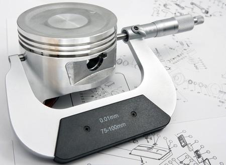 micrometer: Micrometer will measure dimensions of piston