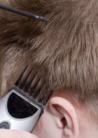 Hairstyle machine, Close-up Stock Photo - 5725880