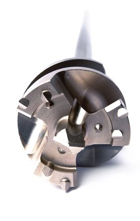diameter:   Big diameter Drill for an aperture, for powerful, industrial punchers, focus on a cutting edge