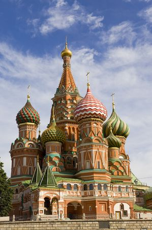 blissful: Moscow. Vasilys cathedral Blissful