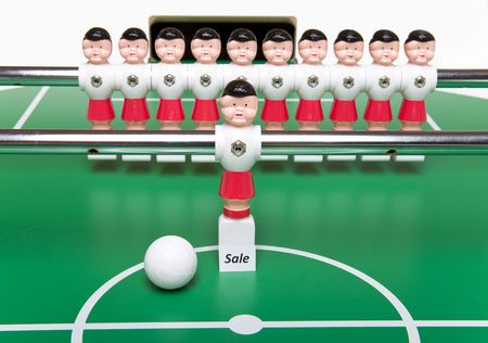 resale: Football player for sale