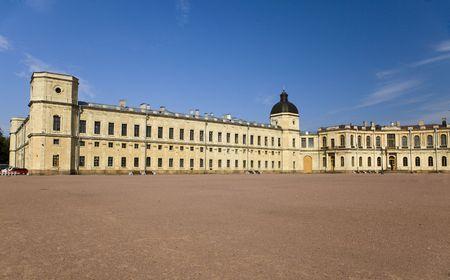 Russia, Gatchina, parade-ground before palace   photo