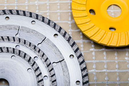Diamond discs for cutting of tile Stock Photo - 6769843