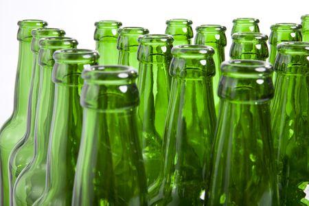 vaso vacio: Botellas de vidrio vac�a
