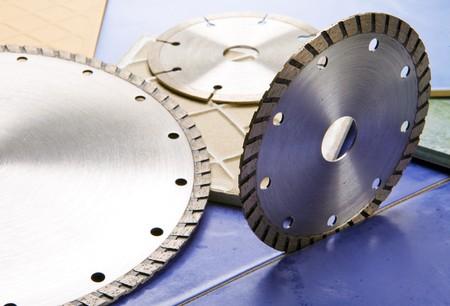 Diamond discs for cutting of tile Stock Photo - 6855779
