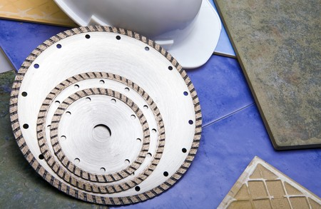 Diamond discs for cutting of tile Stock Photo - 6855789