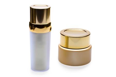 capacitance: bottles for cosmetics