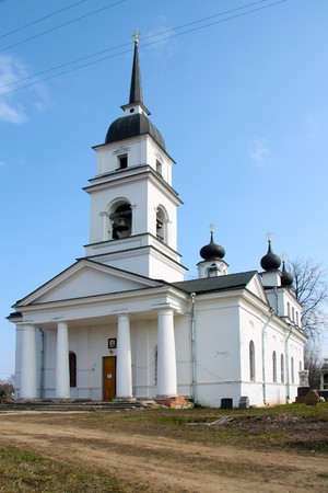 waited: Church in Kobona, Russia was from here begun Lifeline , in this church Resident of Blockaded Leningrad waited ferry through Ladoga