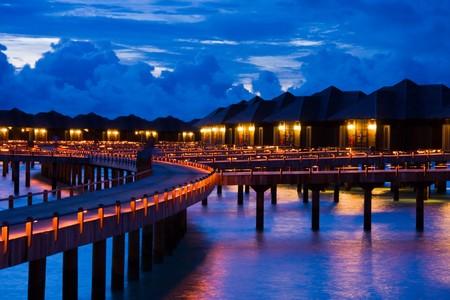 Night on maldives Stock Photo - 7926007