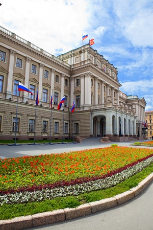 Russia. St.-Petersburg. A Legislative Assembly building Stock Photo - 8354116
