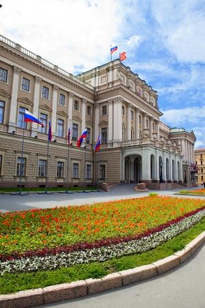Russia. St.-Petersburg. A Legislative Assembly building Stock Photo - 8354116