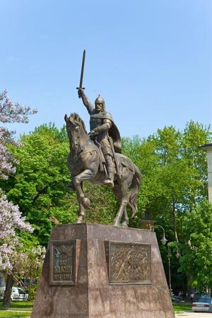 tsar: Monument tsar Kalojan. Varna. Bulgaria
