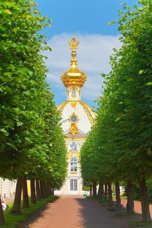 peterhof: Russia, Petrodvorets-   Peterhof Palace