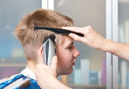Hairstyle machine photo