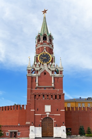 spasskaya: Spasskaya Tower of Moscow Kremlin, Russia.