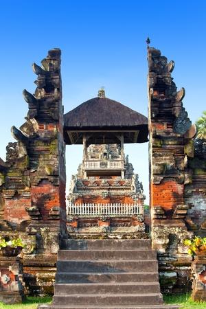 Buddist temple, Bali,Indonesia photo