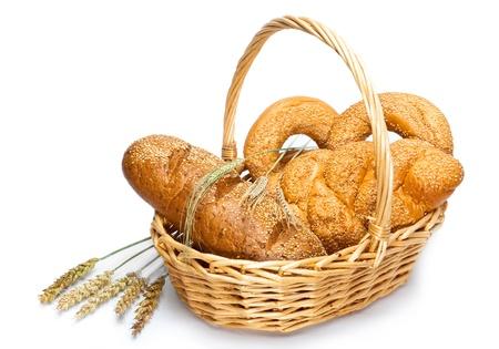 canasta de pan: Canasta con pan