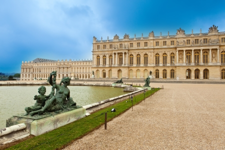 marble palace: Versailles, France. Palace