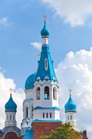 Pokrova Bozhiej Materis orthodox church in Marienburg, Gatchina, Russia   photo
