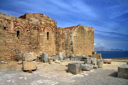 lindos: Greece, Rhodes, Lindos Acropolis