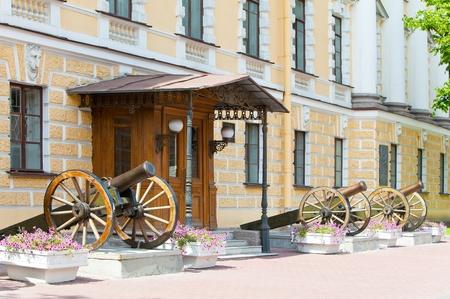 barracks: KONSTANTINOVSKY MILITARY COLLEGE (the higher artillery) since 1857. St.-Petersburg. Russia