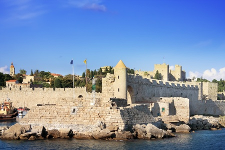 Greece. Rhodes. An ancient fortification round an old city Stock Photo - 12923521