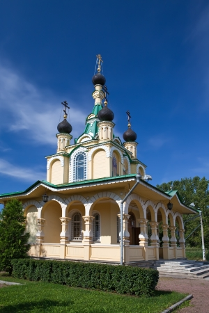 grieving: Church for the sake of the Mother of God icon  All grieving pleasure   Russia  Petersburg