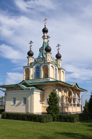 grieving: Church for the sake of the Mother of God icon,All grieving pleasure, Russia. Petersburg.