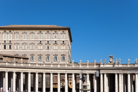 Vatican. The area before St. Peters Cathedral