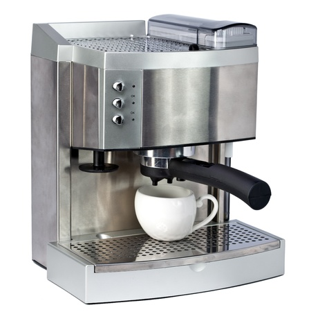 coffee maker: Coffee Machine and cup
