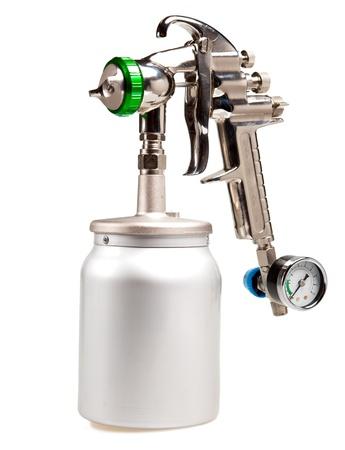 New metal brilliant Spray gun Standard-Bild