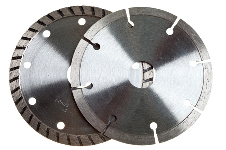 Diamond discs for concrete cutting  photo
