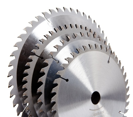 Circular Saw disc for wood cutting Stock Photo - 16614577