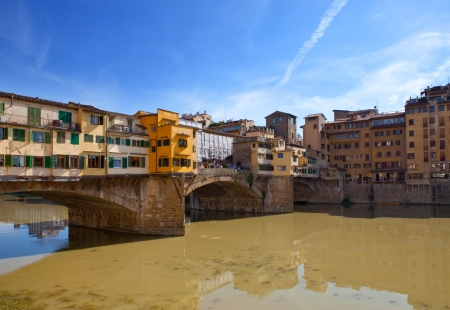 Italy. Florence. Bridge Ponte Vecchio  photo
