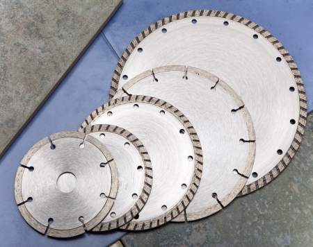 abrasion: Diamond disks for  cutting and abrasion