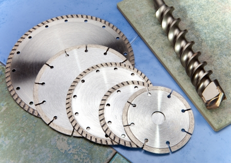 Diamond disks for  cutting and abrasion Stock Photo - 19067535