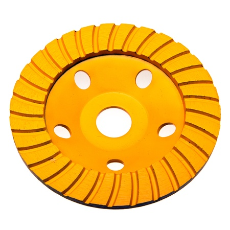 Diamond disk for concrete cutting and abrasion photo