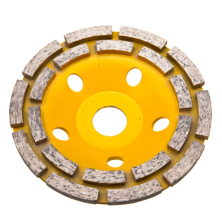 abrasion: Diamond disk for a concrete abrasion