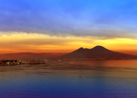 Italy. A bay of Naples