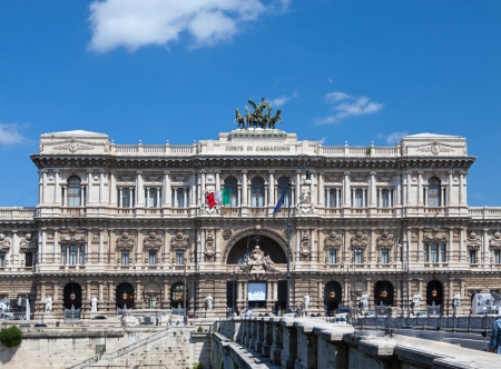 The Supreme Court of Cassation in Rome, Italy photo