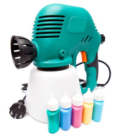 electrical spray gun Imagens