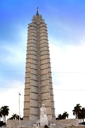 national poet: Havana, Cuba, memorial to Cuban national hero and poet Jose Marti in Plaza de la Revolucion (Revolution Square)