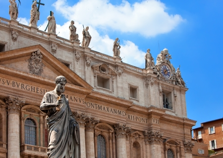 Italy. Rome. Vatican. St Peters Basilica.