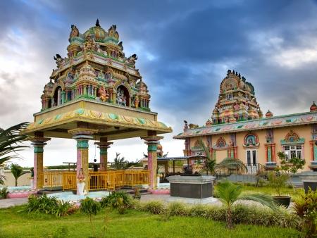 mauritius: Mauritius. Hindoe-tempel.