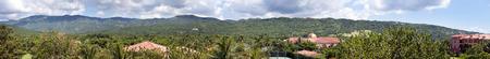 panorama view: Giamaica. Panorama. Vista delle montagne
