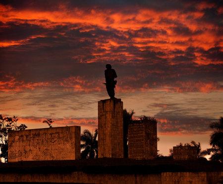 che guevara: Cuba. Santa Clara. Monument Che Guevara