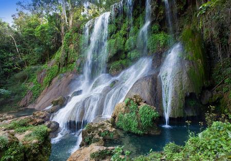 soroa: Soroa waterfall, Pinar del Rio, Cuba Stock Photo
